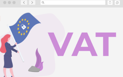 featured image to show EU Vat rule changes with EU flag